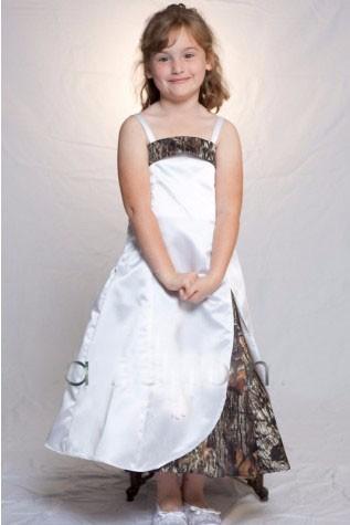 2016 mossy oak camo flower girl dresses girls pageant
