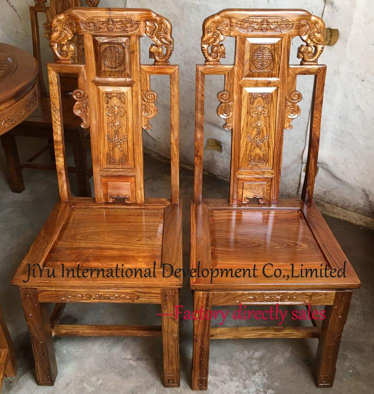 2018 kitchen dinner furniture animal elephant carving home chairs 100  african red sandalwood