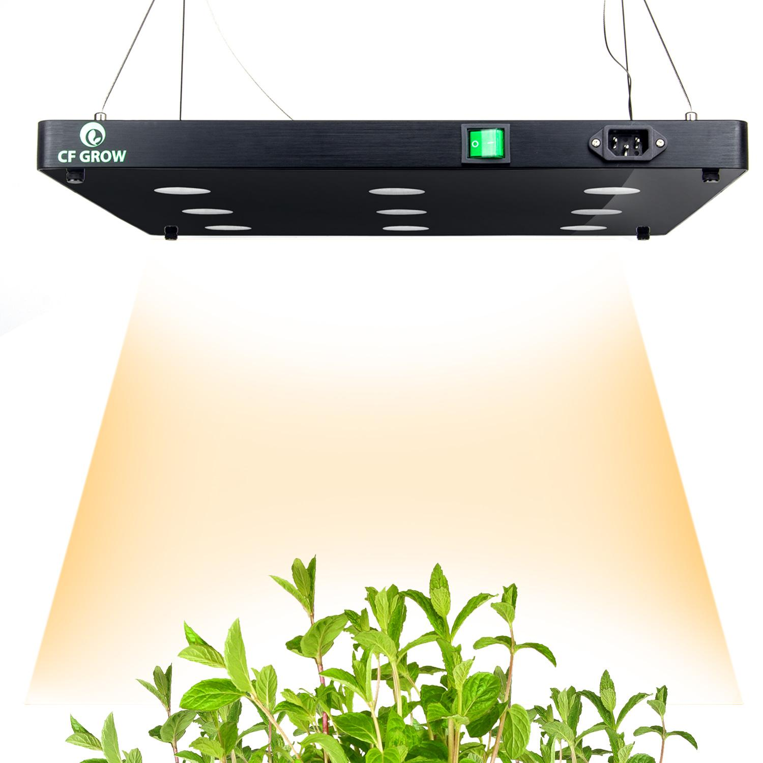 ultrathin blacksuns9 810w cob led plant grow light full spectrum growing panel for hydroponic plants all stage growth lighting full spectrum grow lights