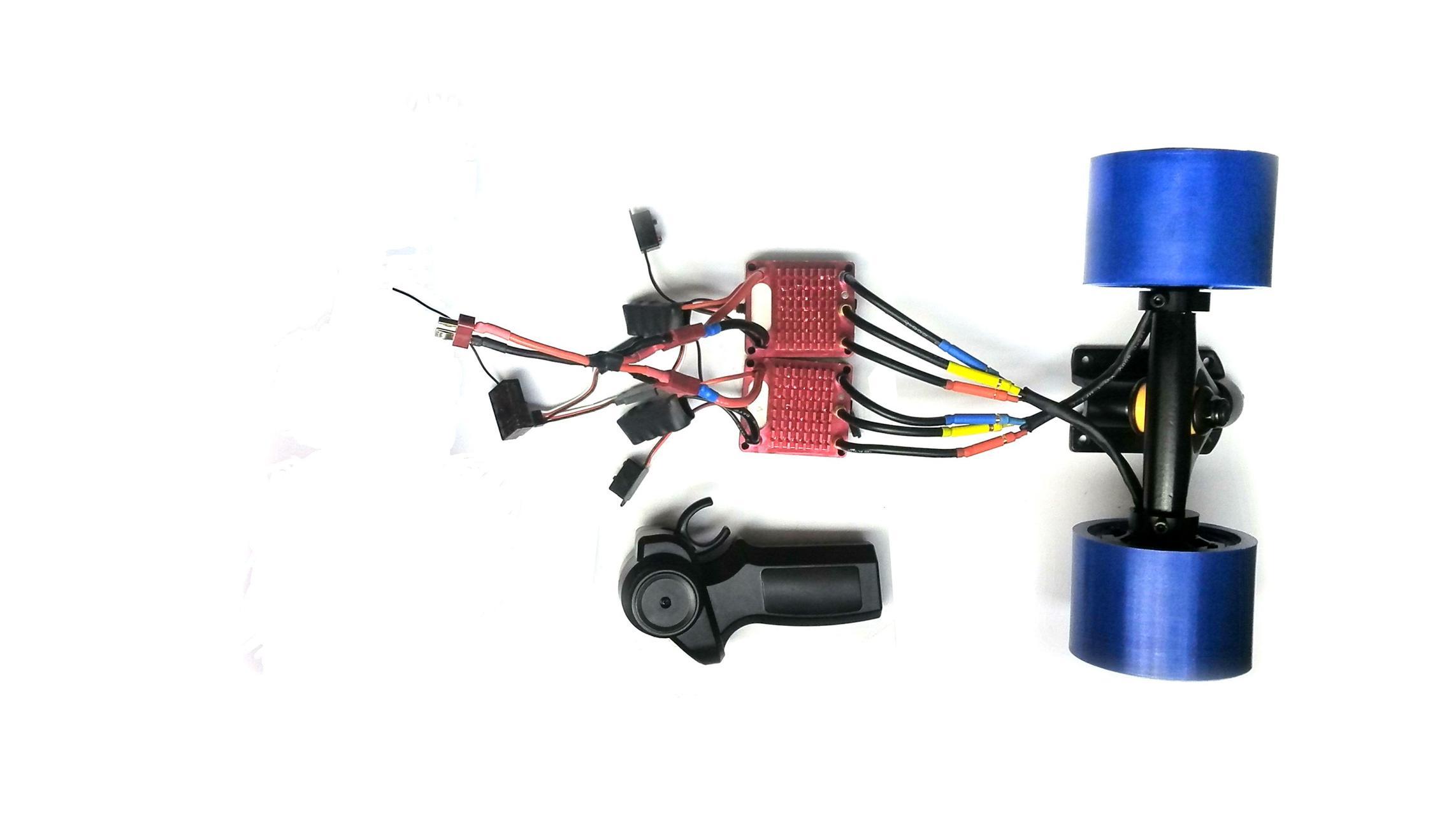 Electric Skateboard Dual Hub Motor Kit E Board Brushless