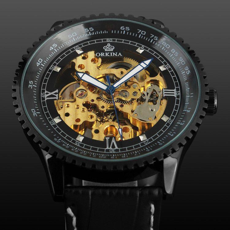 fashion luxury brand watches 50mm big gold