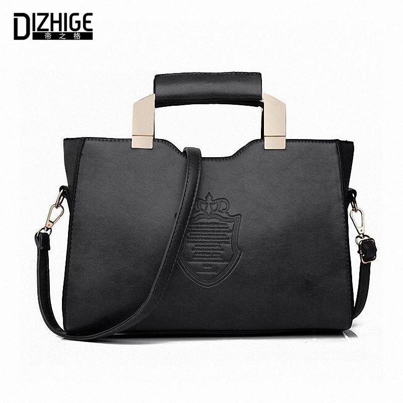 2016 fashion tote bag women leather handbags sac de marque casual designer women handbags high. Black Bedroom Furniture Sets. Home Design Ideas