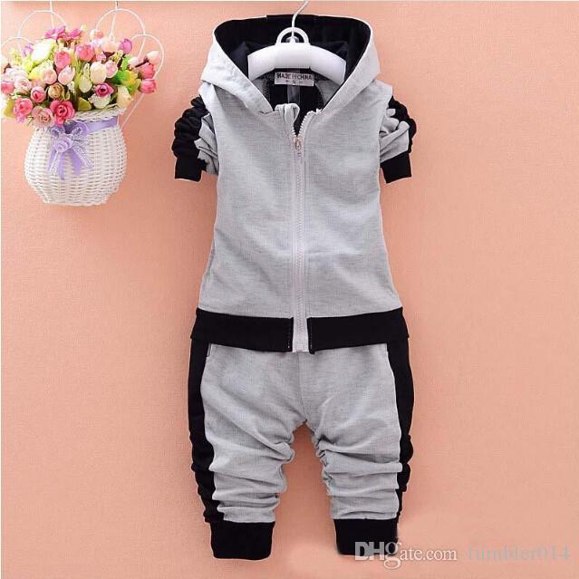 Baby Boys Clothing Sets Children Autumn Winter Wear Cotton