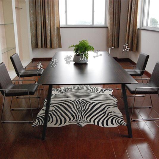 Hide rugs animal print area rug zebra design faux fur rugs for Living room ideas with zebra rug