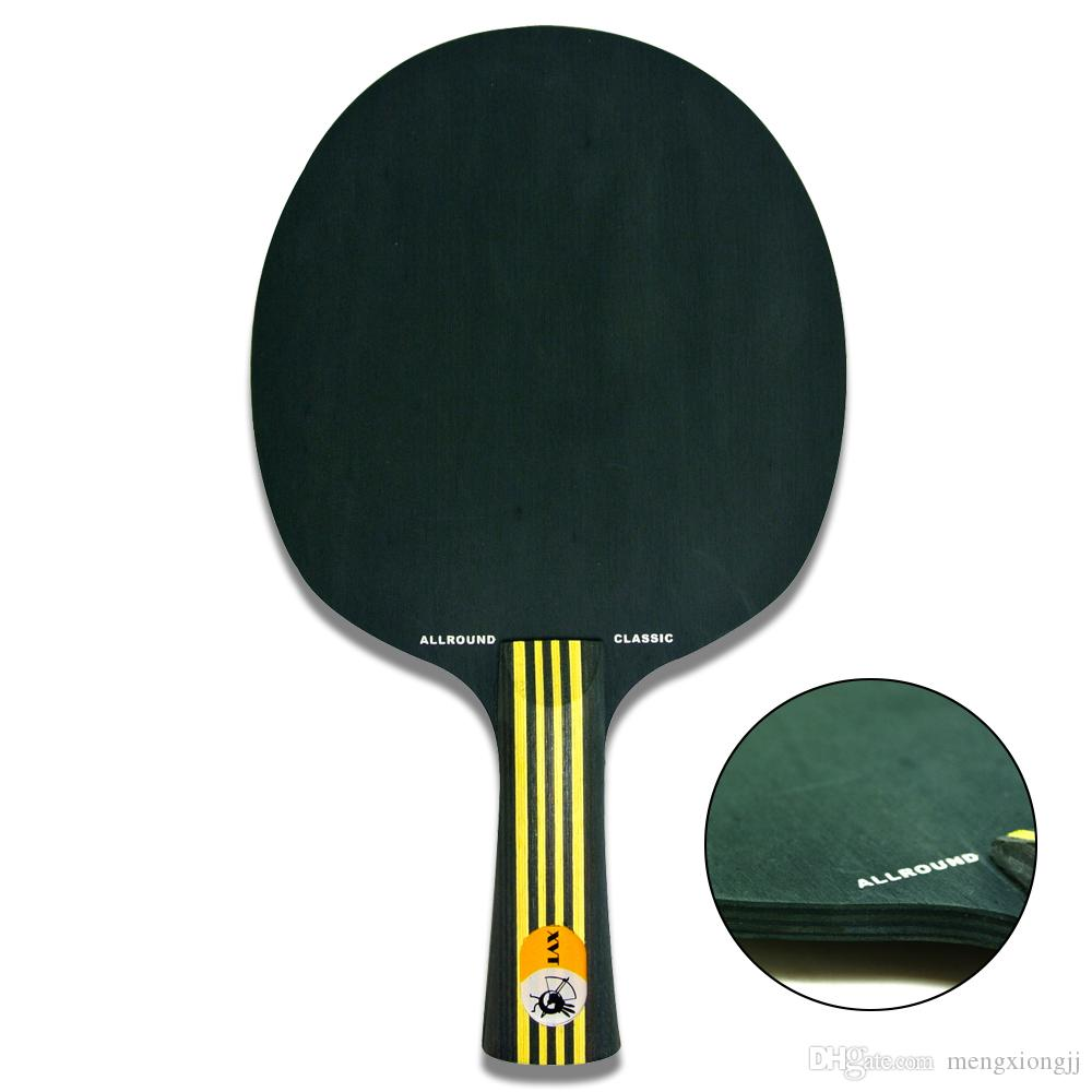 See larger image. Original XVT BLACK WOOD Table Tennis Blade   Table Tennis Paddle