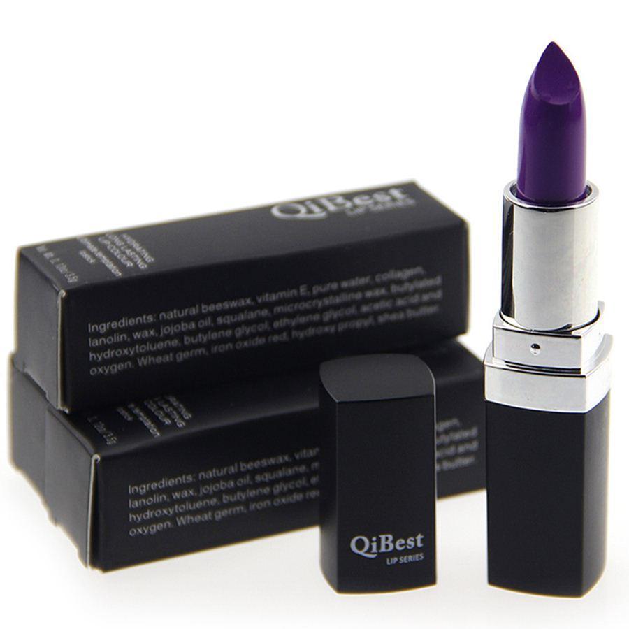 The Vampire Dark Purple Lipstick Moisturizer Long Lasting ...