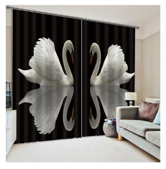 Curtains Ideas blackout drapes and curtains : 2017 3d Curtains For Bedroom, Living Room Window Curtain Set ...