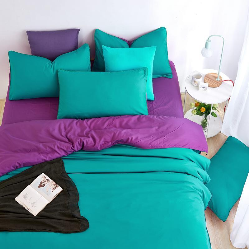 Wholesale 2016 new minimalism home bedding sets soft and for Minimalist comforter