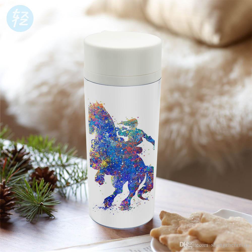 Water Bottle Zelda: Watercolor Modern Personalized Cup Bpa Free Plastic
