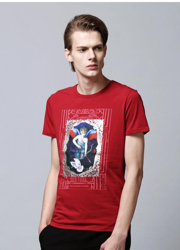 The latest high end fashion brand ao daier cotton t shirt for High end white t shirts