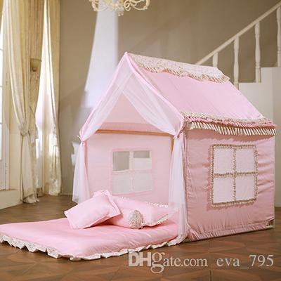 agger children cloth tents large indoor game houses three. Black Bedroom Furniture Sets. Home Design Ideas