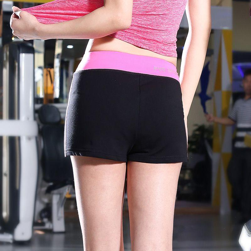 2017 Wholesale Brand Women'S Yoga Shorts Summer Running
