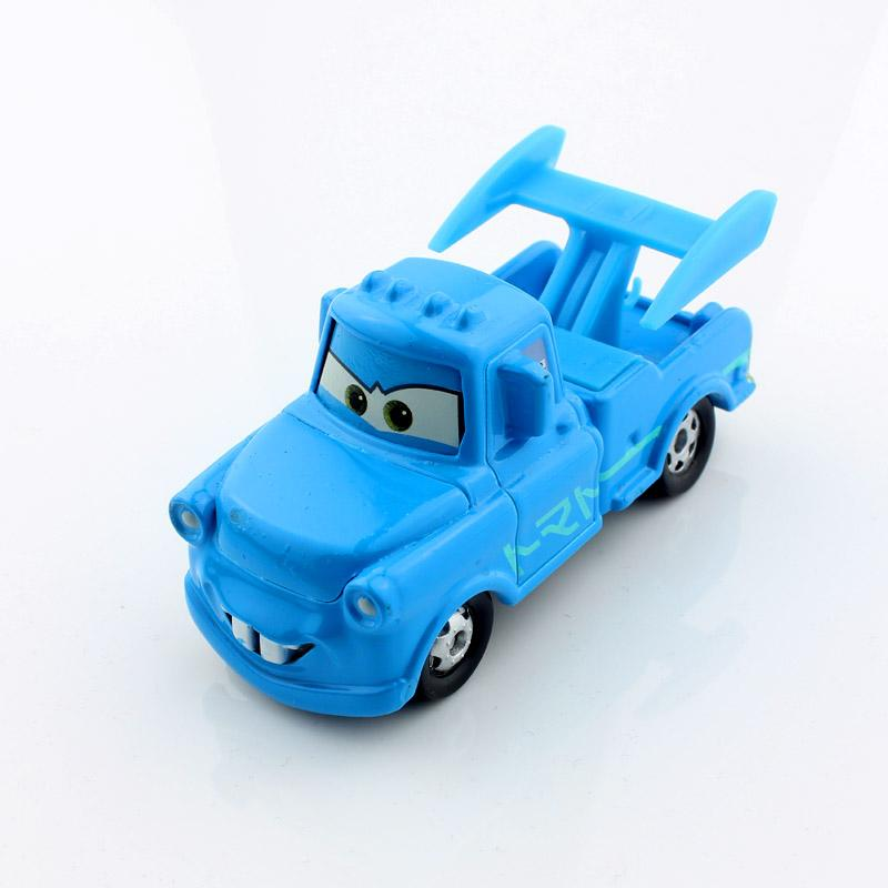 mini kids cars 2 toy tomica tomy cars cute mater tow truck blue vampire version alloy