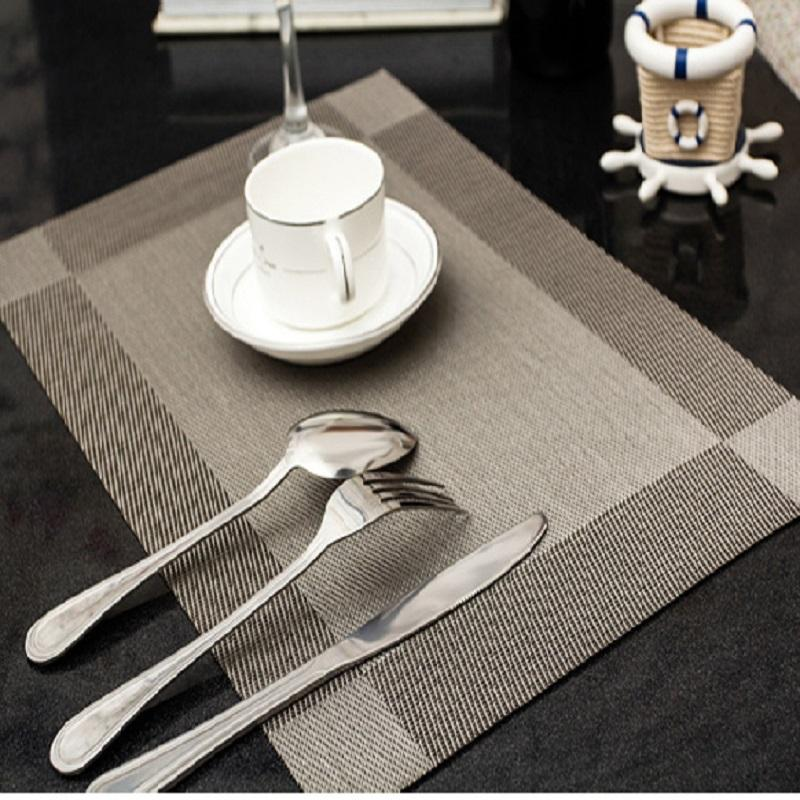 Wholesale- PVC Dining Room Placemat for Table Heat Insulation ...