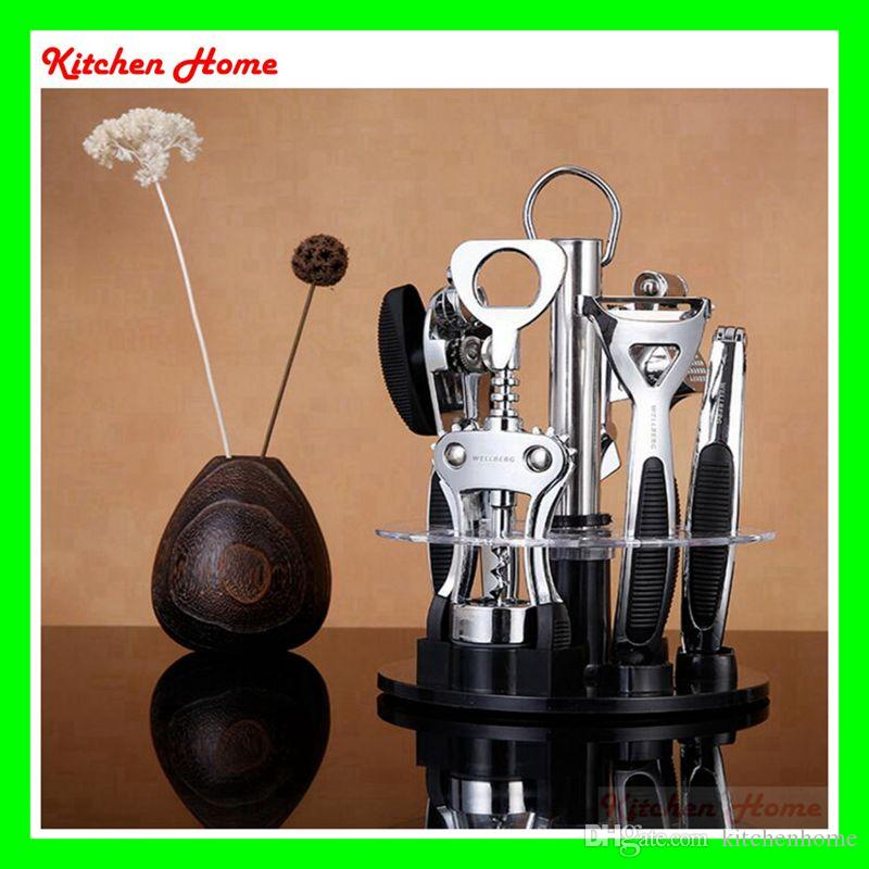 2017 high quality stainless steel kitchen cooking tools for Kitchen tool 6pcs set