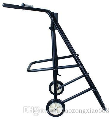 Best outboard boat motor trolling stand carrier cart dolly for Best way to store an outboard motor