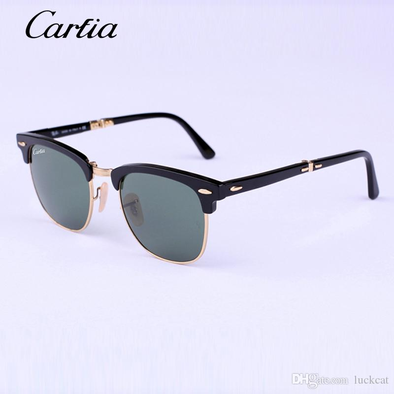Glasses Frame Discoloration : Carfia 2176 Folding Sunglasses Men 2015 Combine ...