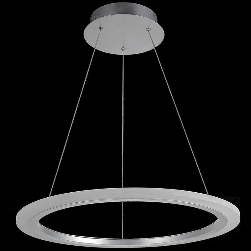Modern led pendant lights for dining kitchen acrylic for Luminaire suspension 4 lampes
