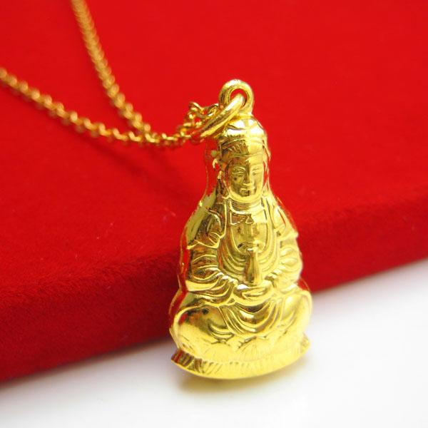 Wholesale for a long time does not fade gold pendant gold for Does gold plated jewelry fade