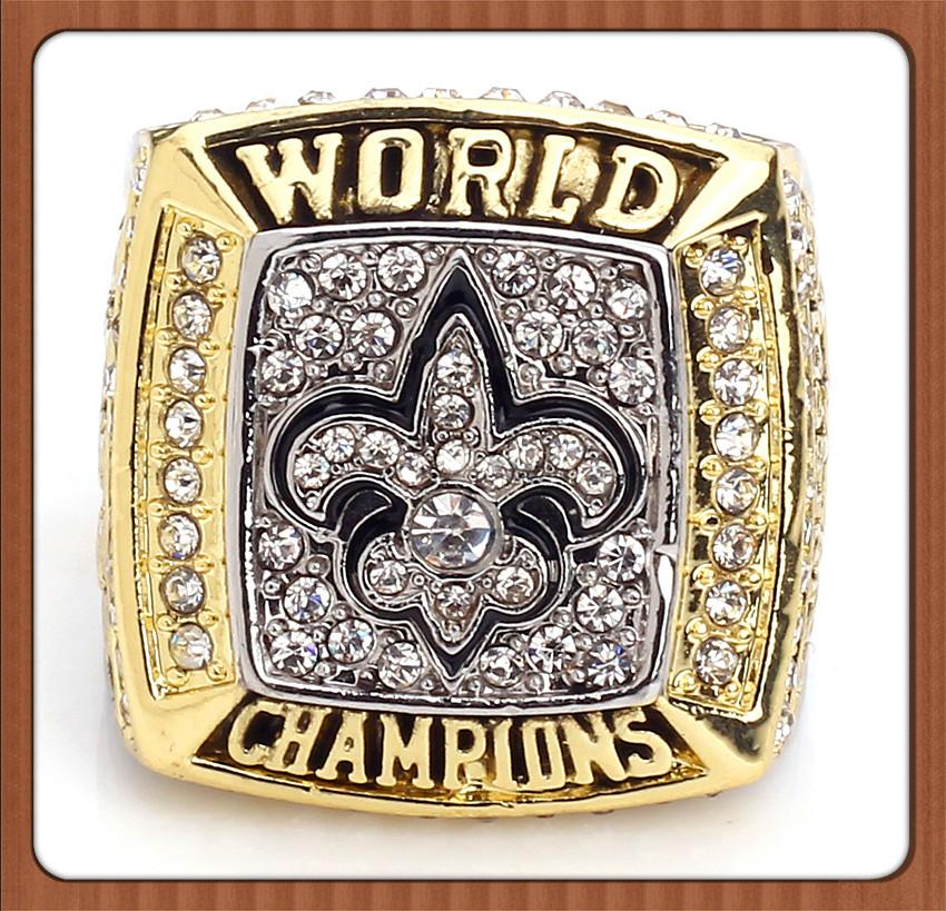 Promotion 2009 Promotion New Orleans Saints Réplique Super Bowl Champion Anneau