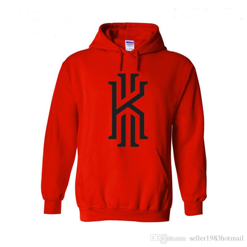 2016 New Fashion Hoodies Men Sweatshirt Kyrie Irving Logo Hoodie ...
