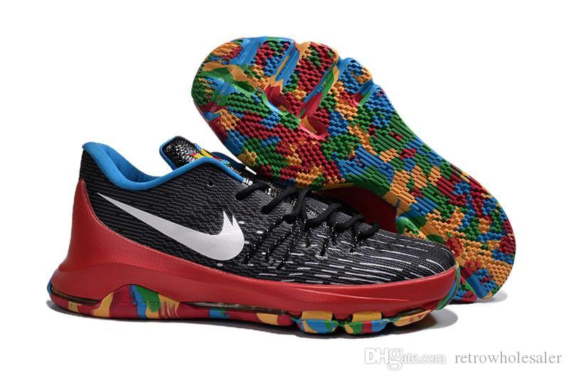 Cheap Kd 8 Basketball Toy Pack Shoes Mens Kevin Durant Athletic ...