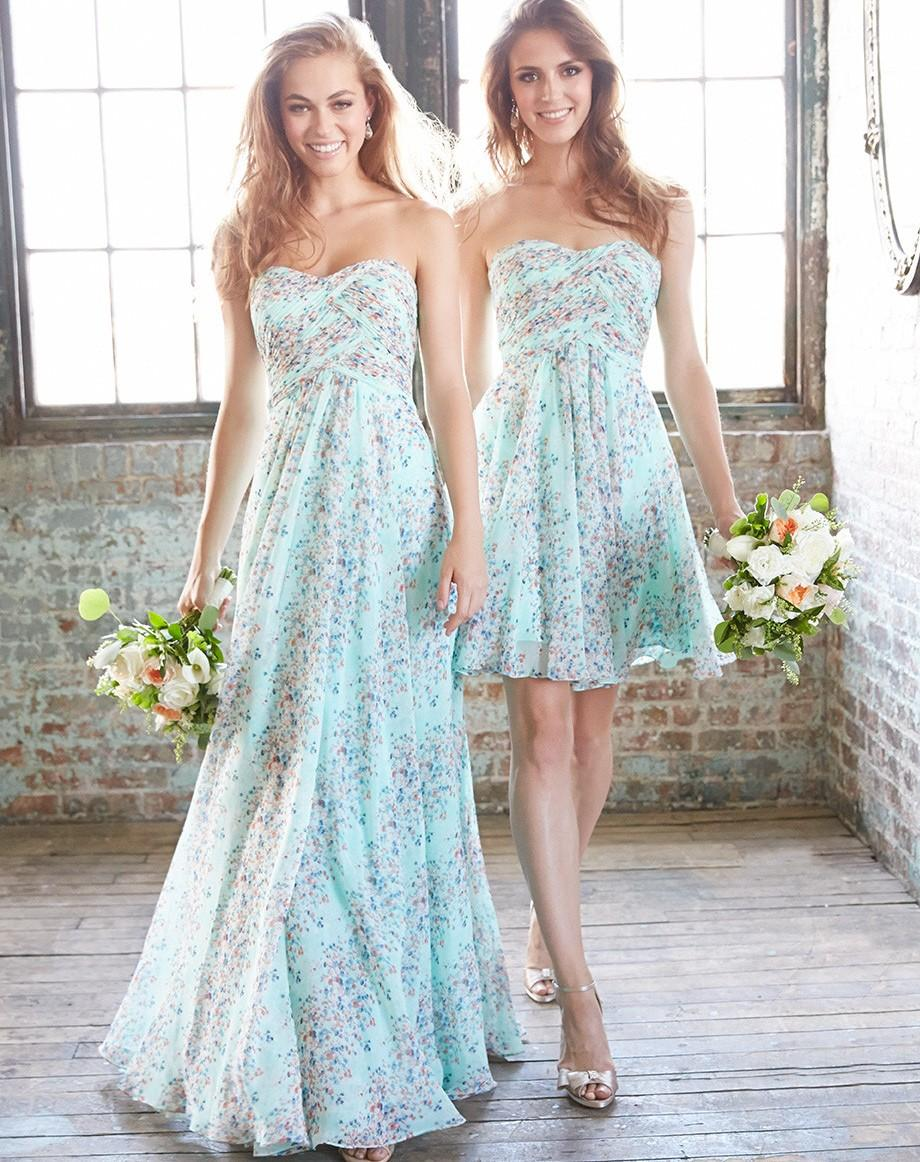 Short Or Long Bridesmaid Dresses For Summer - Wedding Dresses Asian