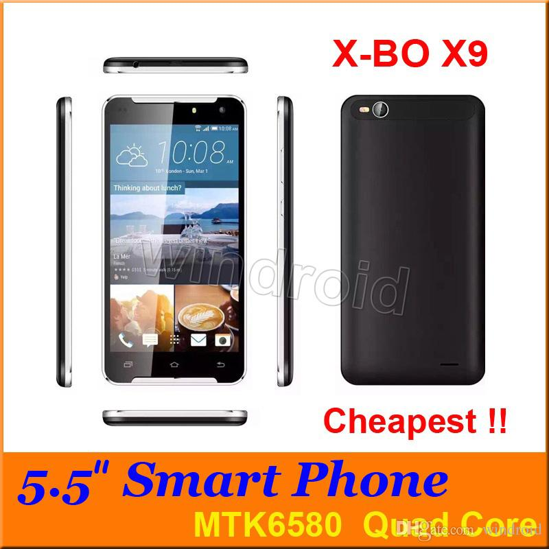 XBO X9 5,5 pouces Quad Core MTK6580 Android 6.0 puce 3G Cell Phone 8 Go de RAM 9