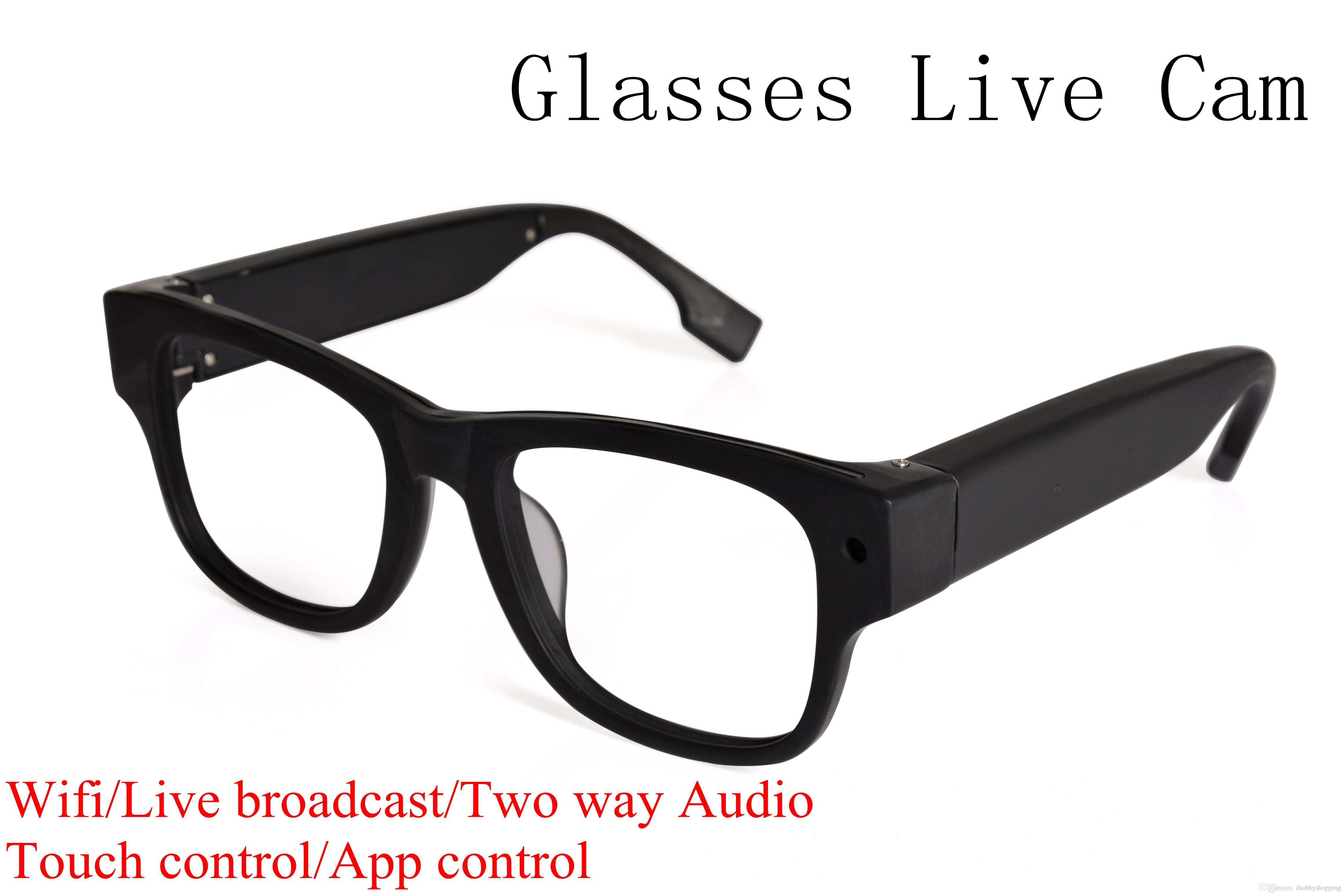 2017 Wifi Camera Sunglasses Sport Video Camera Smart Glasses Live ...