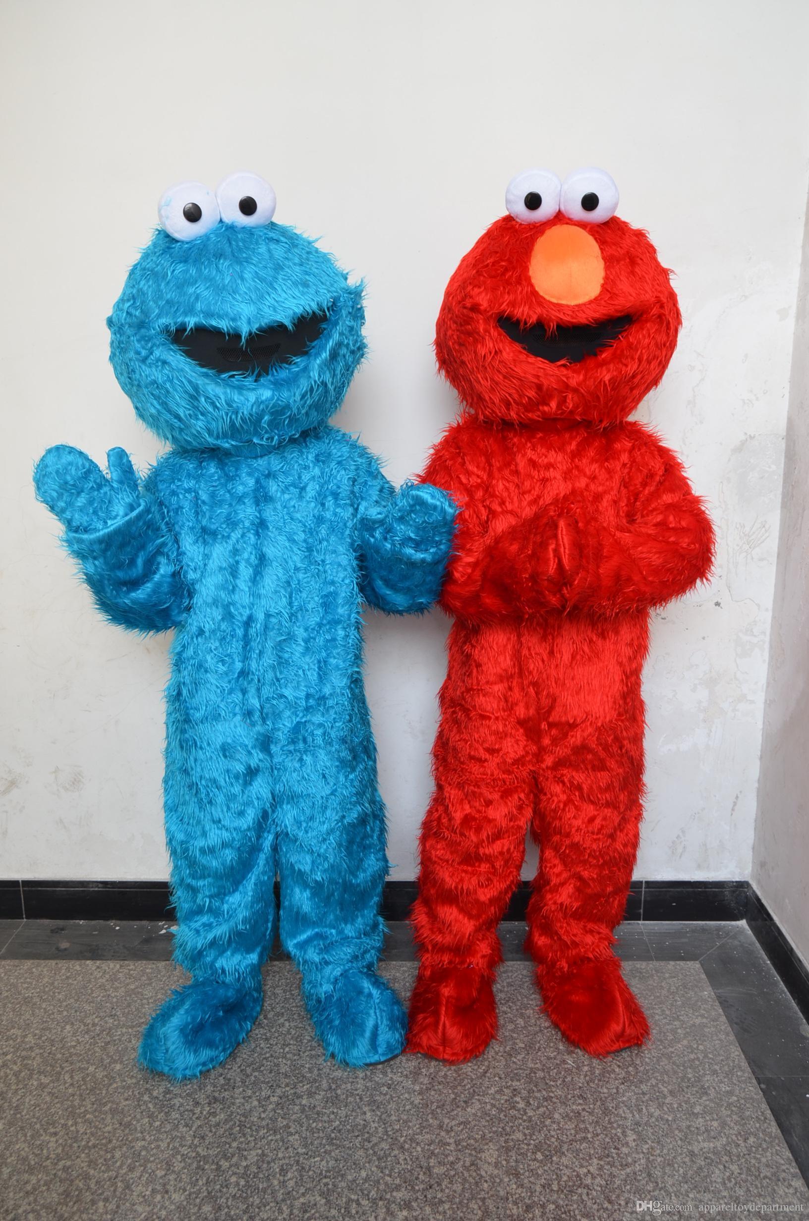 Elmo Costume For Adult 48