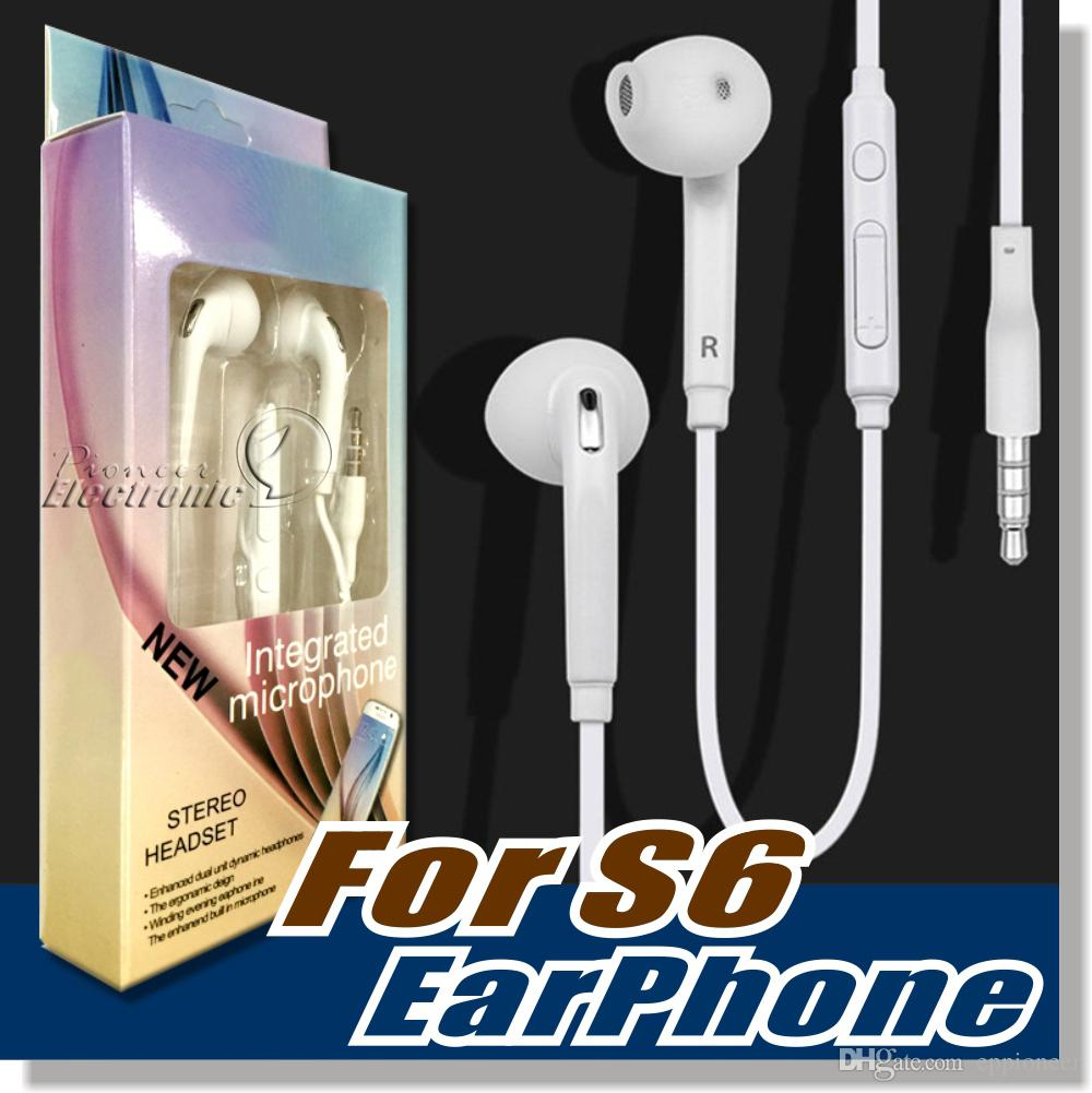 wiring headphone jack online stereo headphone jack wiring for s6 s7 earphone earphones headphones earbuds iphone 6 6s headset for jack in ear wired mic volume control 3 5mm white retailbox