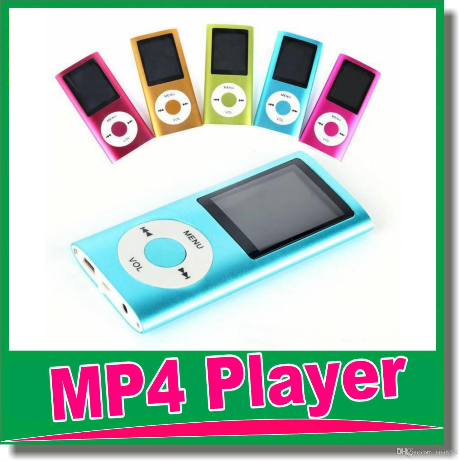 mp3 mp4 player slim 4th video radio fm player. Black Bedroom Furniture Sets. Home Design Ideas