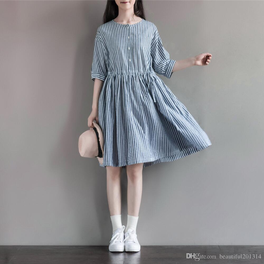 Terrific Japanese Mori Girl Clothing 2016 New Autumn Women Slim Short Hairstyles For Women Draintrainus