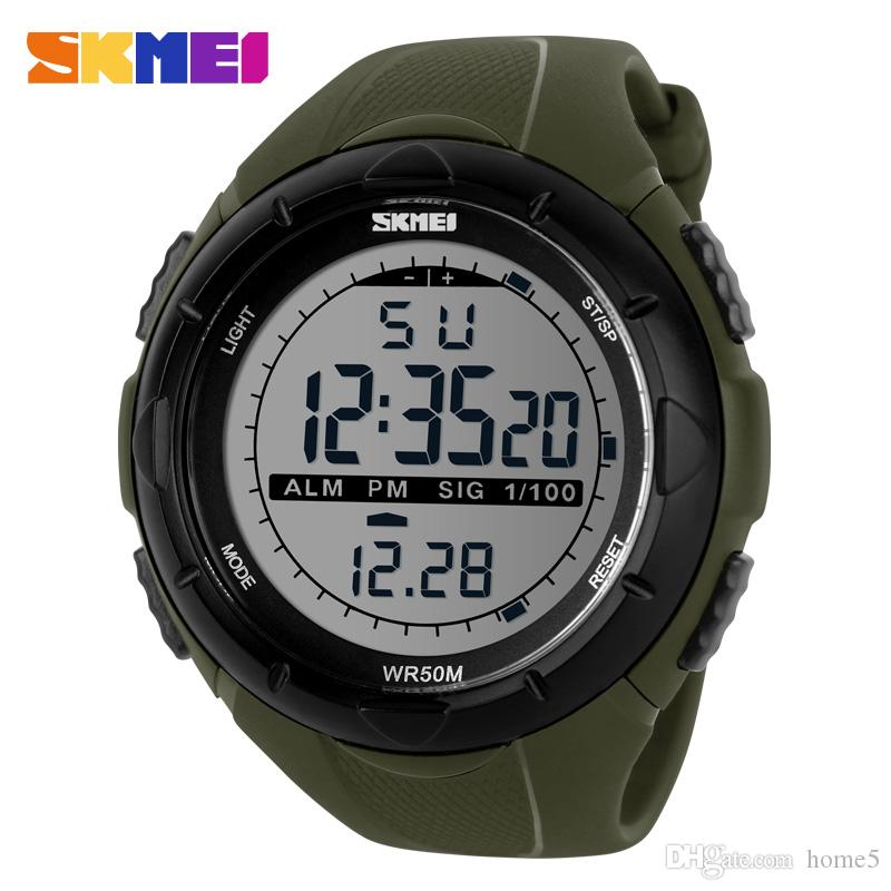 2016 new men led digital military watches fashion sports watch see larger image
