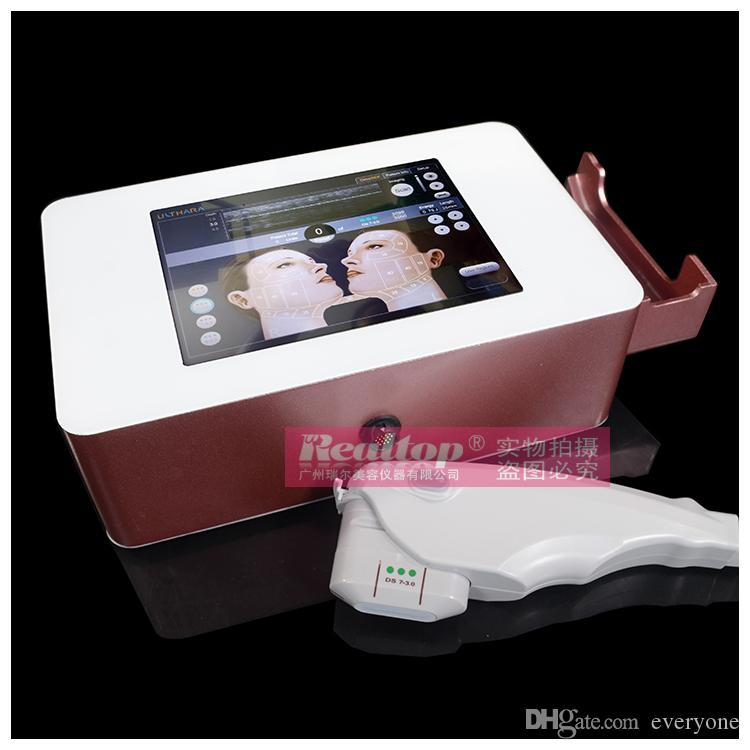2016 portable hifu high intensity focused ultrasound face for Second hand beauty equipment