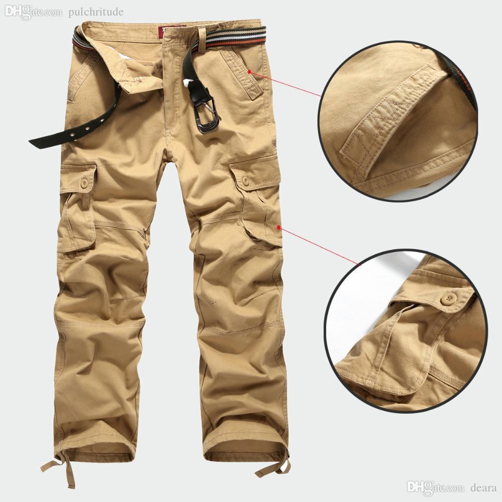 cheap men cargo pants - Pi Pants