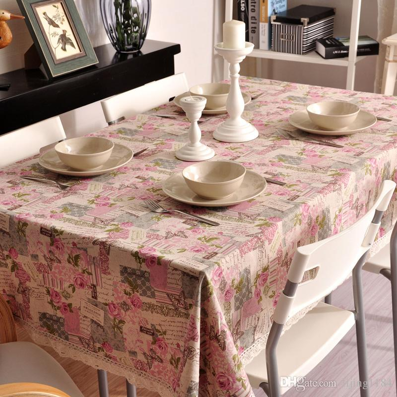 table cloths linen tablecloths rose linen cloth tablecloths tower newspapers table runners on sale circle tablecloth table clothing from lijing1184 - Cloth Tablecloths