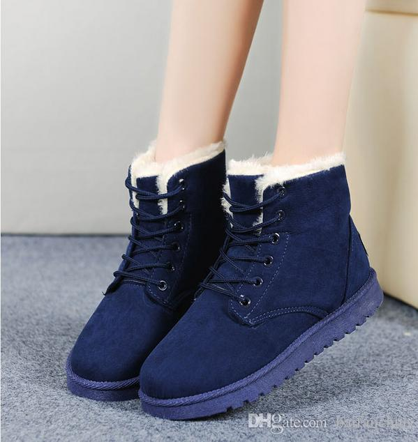 2016 Sales Of The Most Popular Hot Winter Boots Women Boots Women ...
