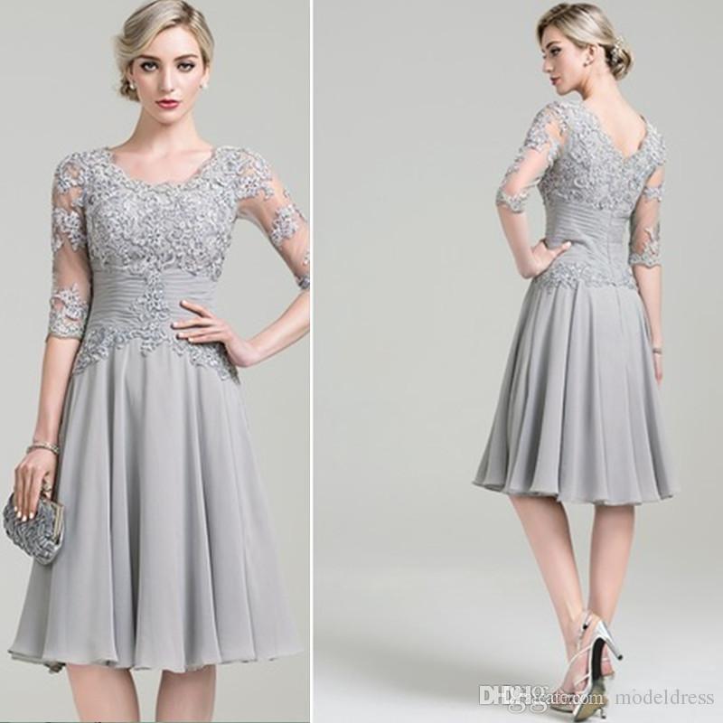 Silver Beach Dresses