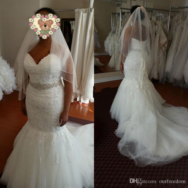 Vintage 2016 african mermaid wedding dresses sweetheart for Dhgate wedding dresses 2016