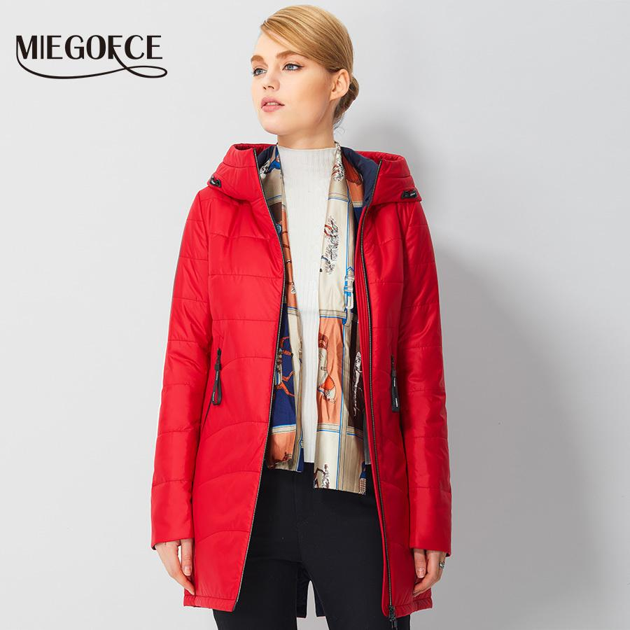 MIEGOFCE 2017 Spring Warm Womens Parkas Simple Design European ...