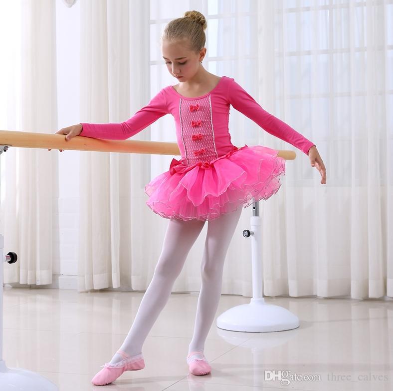 2017 2016 Pretty Girls Ballet Dress For Kids Dance Clothing Super ...