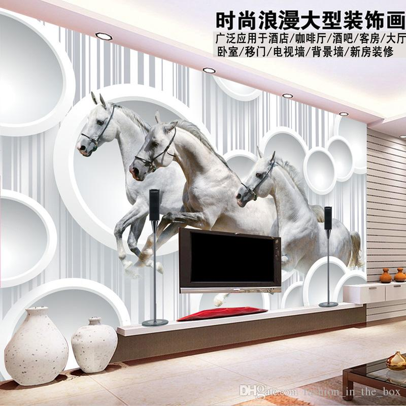 3d Horse Wallpaper Personalized Custom Photo Wallpaper