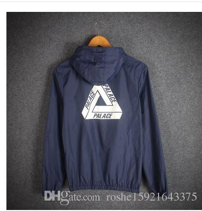Palace Jacket Summer Spring Palace Skateboards Coupe-vent Sunscreen Supremes Ves
