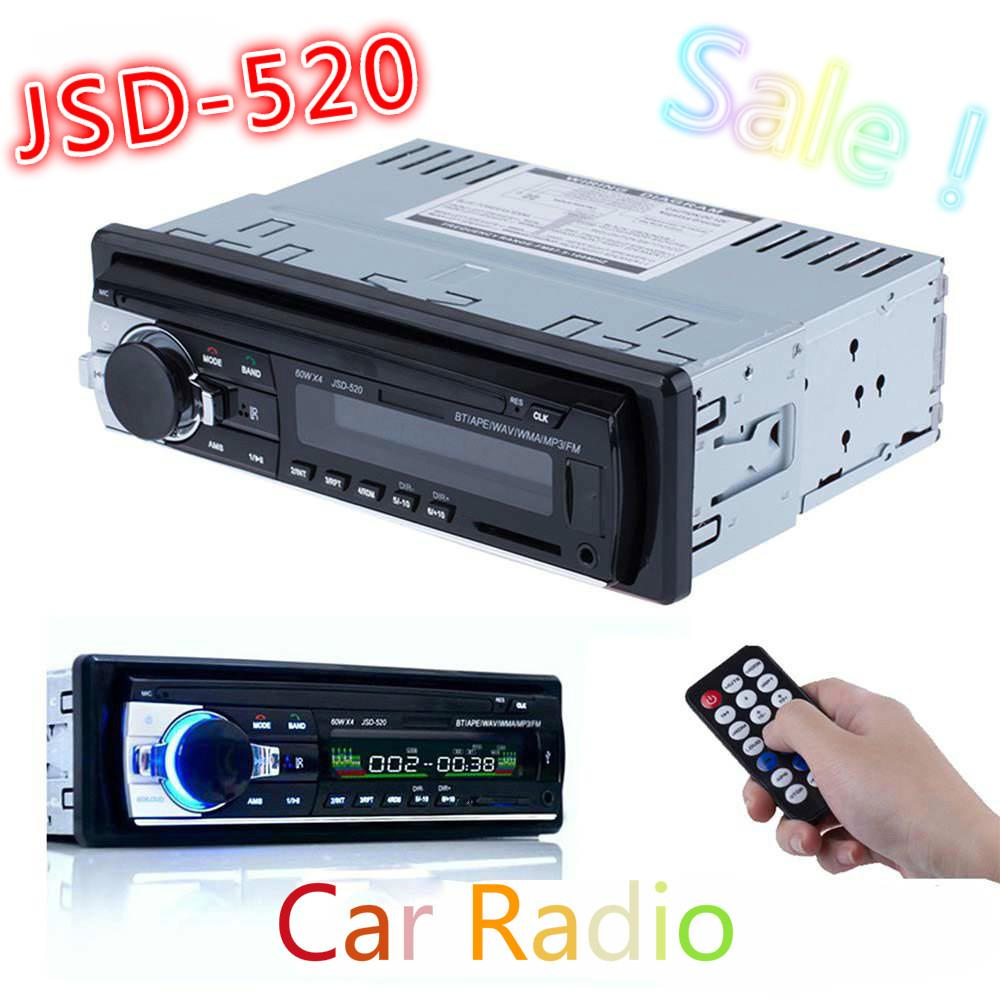 Hot Car Radio Stereo Auto Audio En-tiret Single Din Récepteur FM 12V Bluetooth A