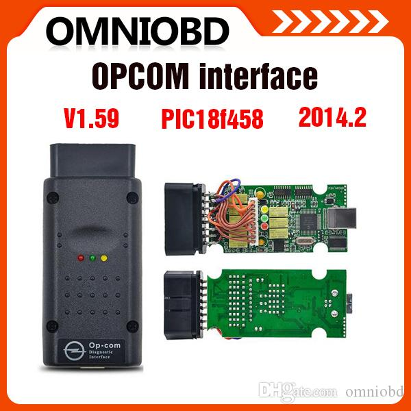 Top selling 2016 New Arrival opcom OP com v2014.2 auto diagostic tool for Opel op-com V1.59 with PIC chip High Quality free shipping