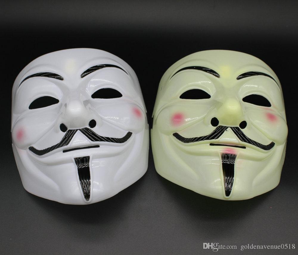 Halloween Mask V for Vendetta Extremely Funny Jokes Realistic ...