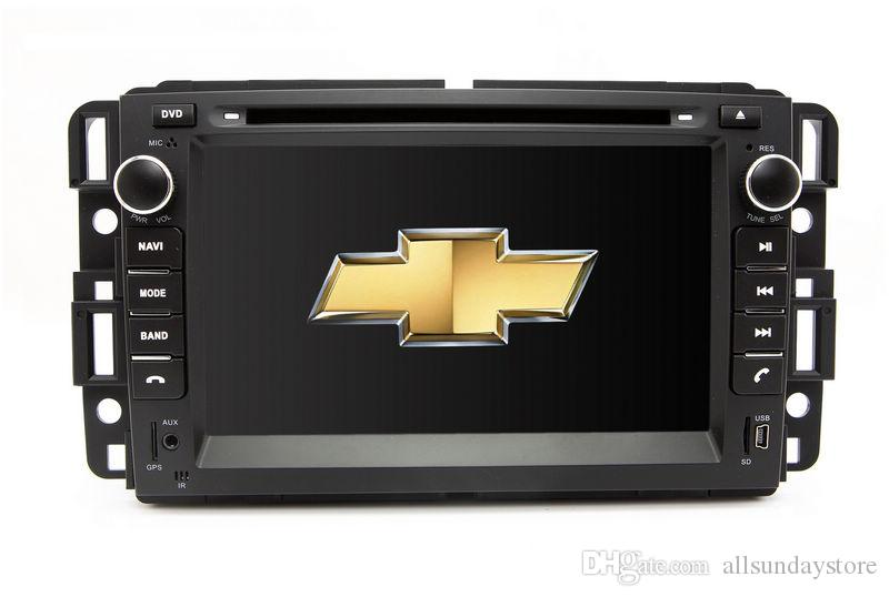 In Dash Car Dvd Player Gps Navigation For Chevrolet ...