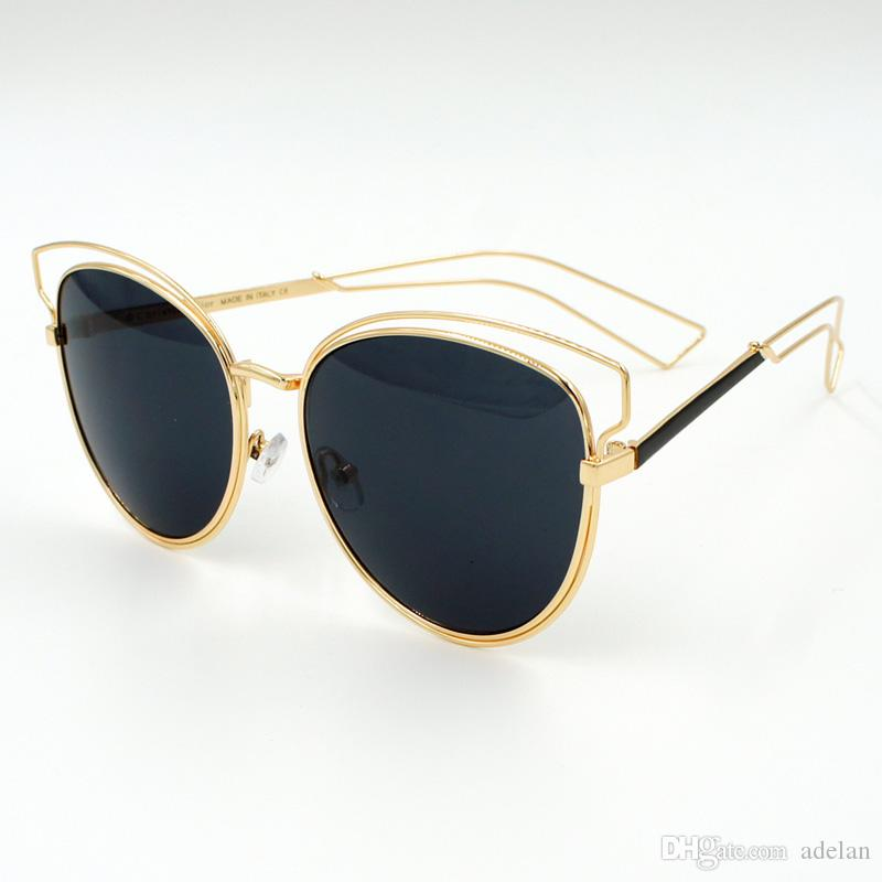 designer sunglasses women  2016 New Lady Luxury Brand Designer Sunglasses Women Points Sun ...