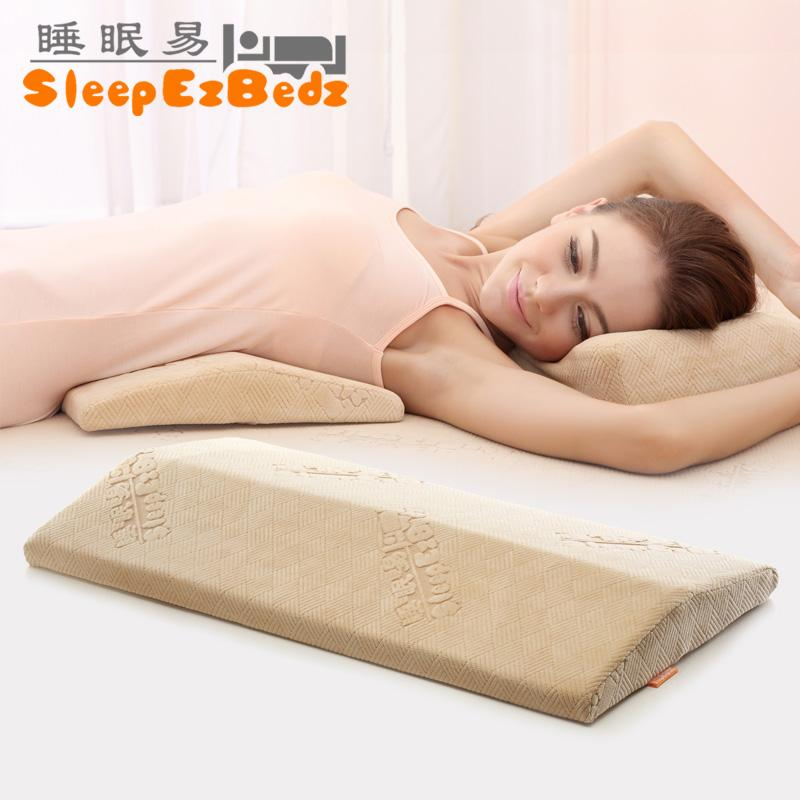 pregnancy sleeping health bed back pillow lumbar pillows memory cotton lumbar support pillow back rest pregnant - Bed Pillow Chair